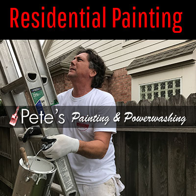 Residential Painting - Pete's